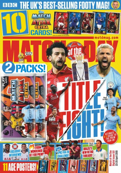Match of the Day Magazine Subscription