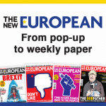 The New European. From pop-up to weekly paper