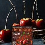 Autumn Toffee apples from delicious.