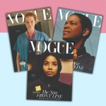 The July issue of British Vogue shines the spotlight to The New Front Line.